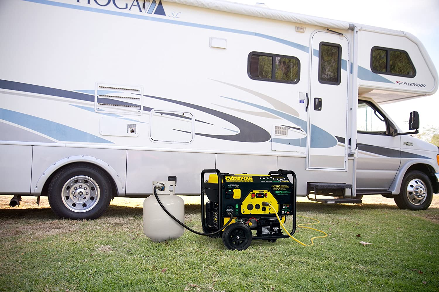 Champion Portable Dual Fuel Generator