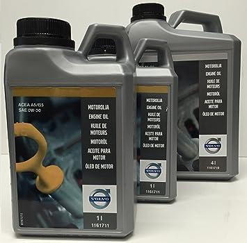 Volvo Aceite para Motor Original SAE 0W30 A5/B5 en 6 litros: Amazon.es: Coche y moto