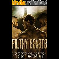 Filthy Beasts: A Dark Reverse Harem Romance (English Edition)
