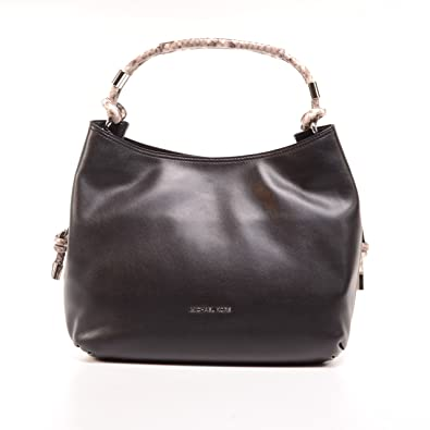 d20a261cd88ddb Amazon.com: Michael Kors Isabel Large Convertible Shoulder Bag in Black:  Shoes