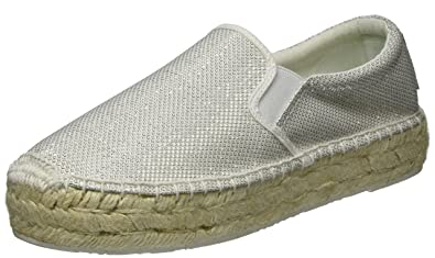 Replay Damen Wayne Espadrilles, Weiß (White), 38 EU