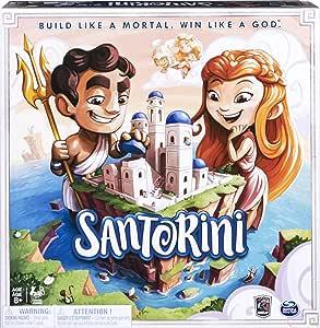 Spin Master- Santorini Gordon Hamilton Board Game (6040699): Amazon.es: Juguetes y juegos