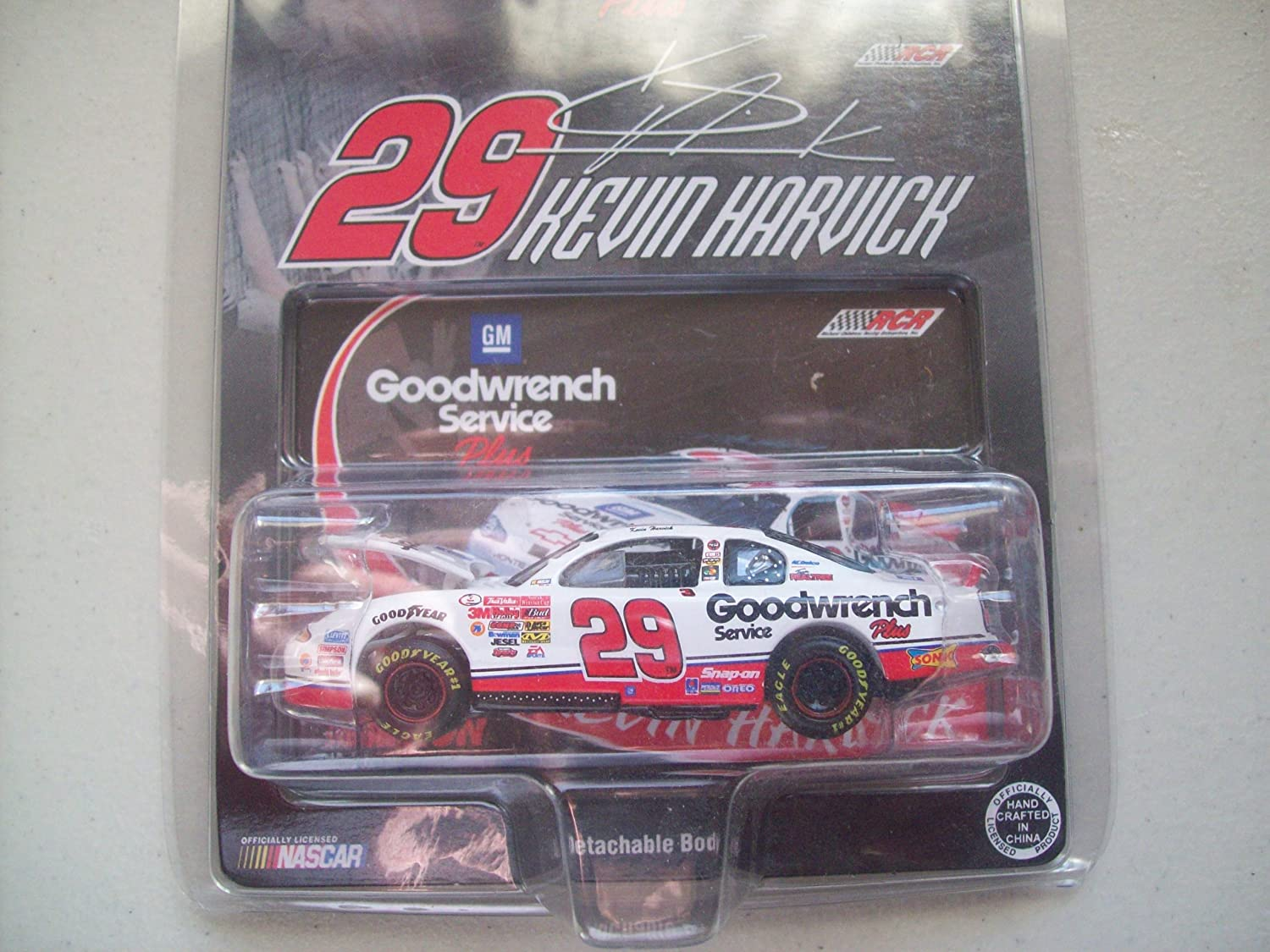 Action Kevin Harvick #29 GM Goodwrench Rookie 2001 Monte Carlo by Action [並行輸入品] B0046BDRCW