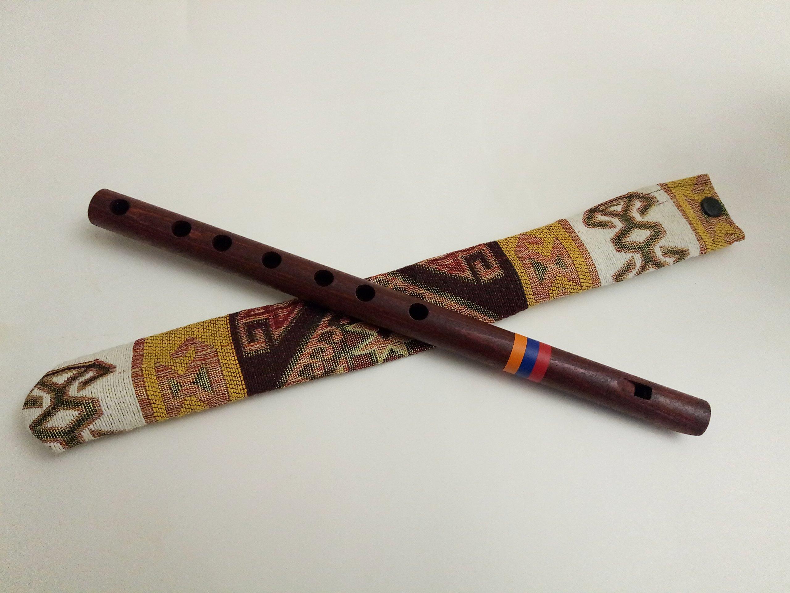 Flute Professional, Armenian Flute, Shvi, Apricot Wood, National Case, Armenian Duduk