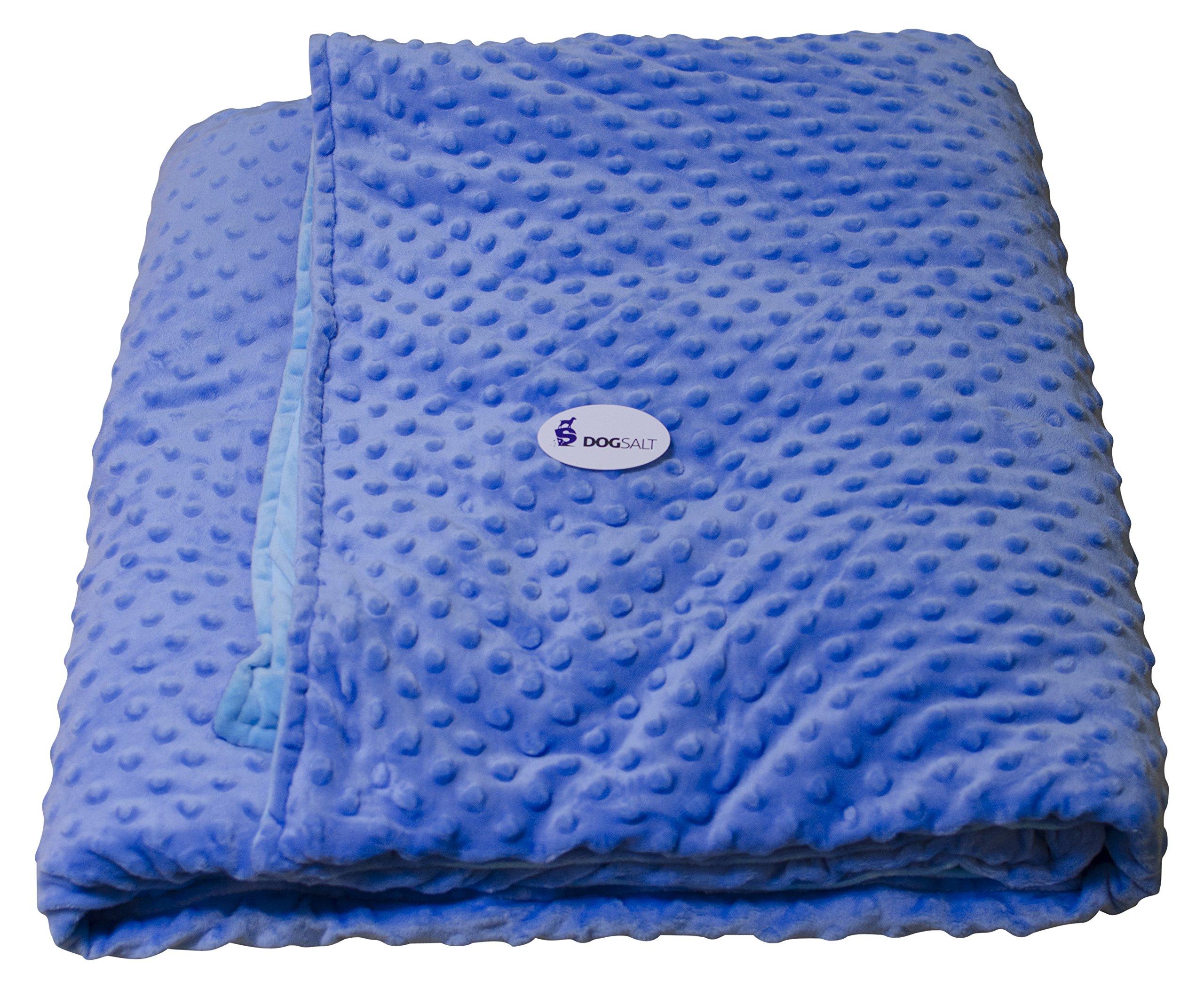 DogSalt's Weighted Blanket (Blue)