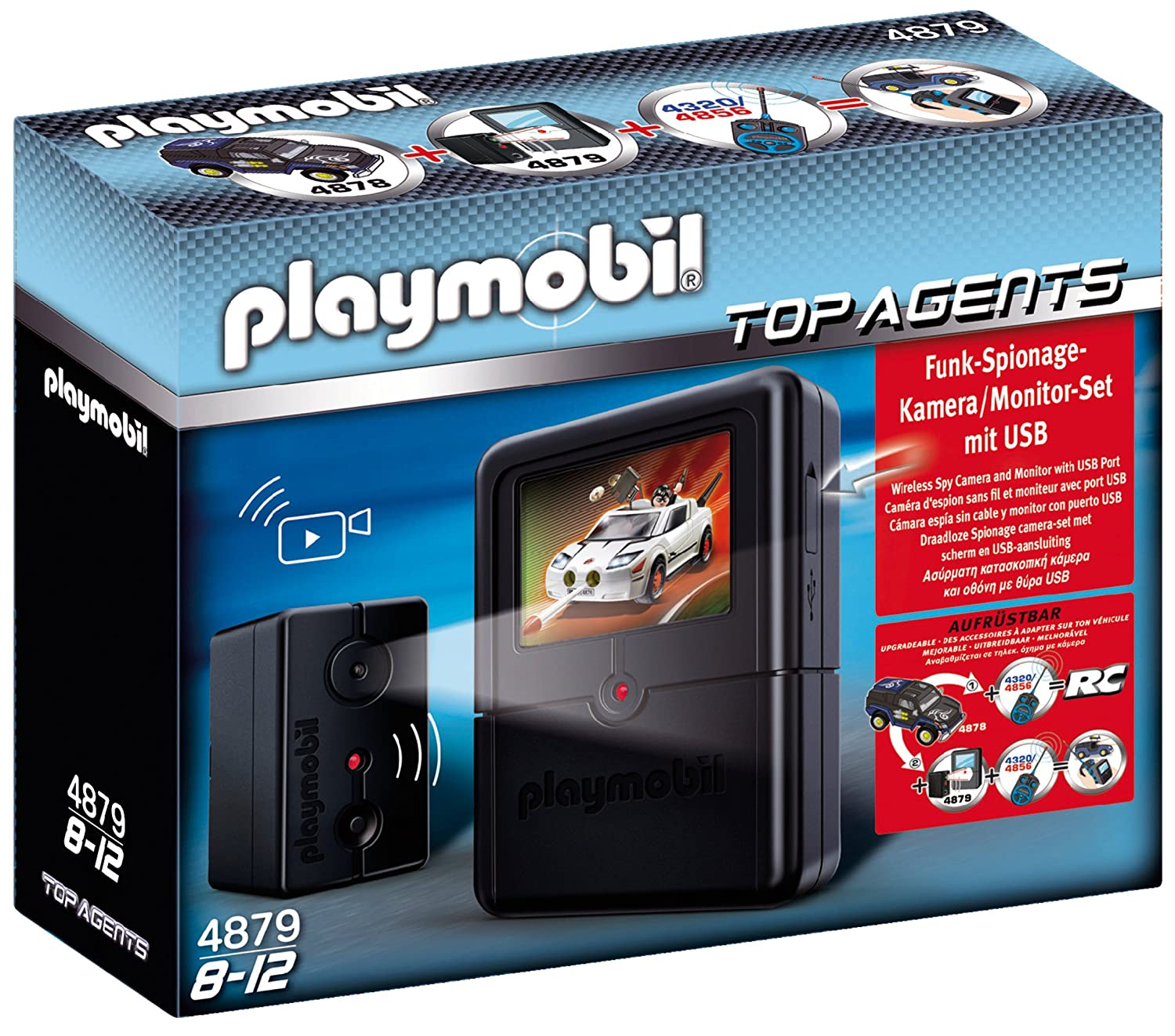 PLAYMOBIL Spying Camera Set Toy Playmobil - Cranbury 4879 B003AQBWN0