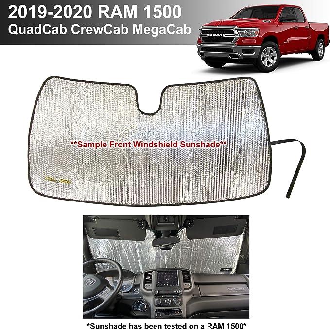 Custom Fit Automotive Reflective Windshield Sunshade for 2019 2020 Honda Passport
