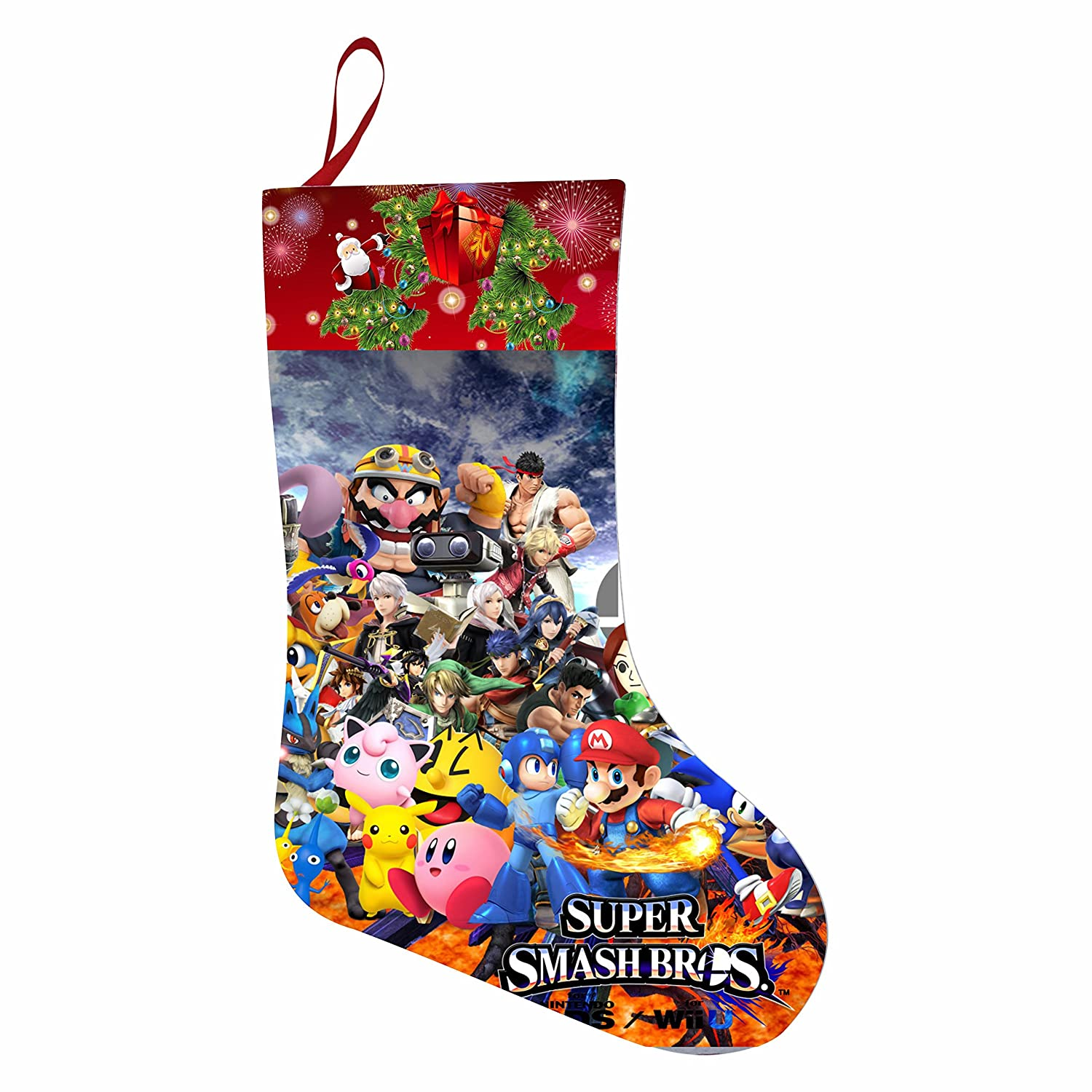Amazon.com: Mario-Odyssey Sonic Christmas Sock, Great Festival ...