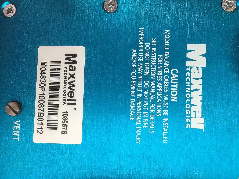 Amazon com: Maxwell Technologies 165F 48V Ultracapacitor: Home Audio