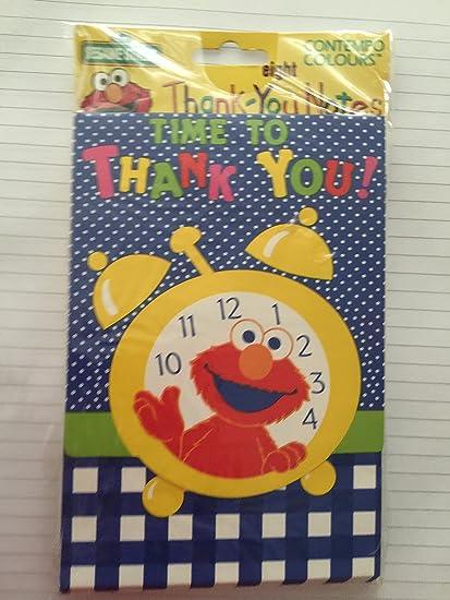 Amazon Com Sesame Street Elmo Time To Thank You Thank You