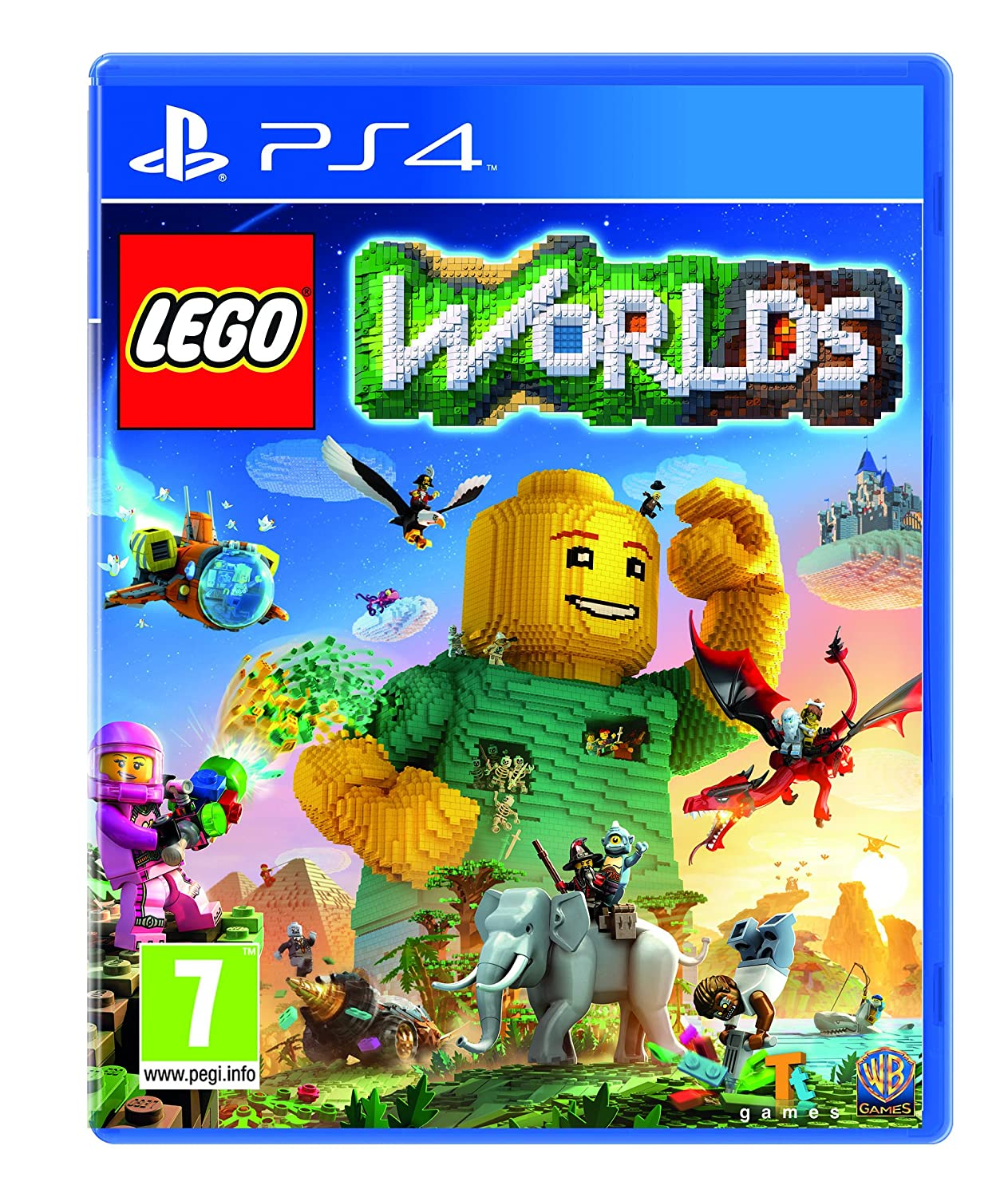 Lego worlds - PS4 | Traveller's Tales. Programmeur