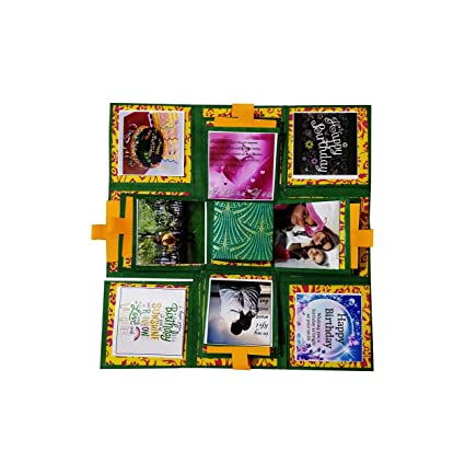 Newcyclic 3 Layered Handmade Explosion Box For Birthday Rakhi Gift Sister Brother