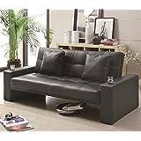 Coaster Sofa Bed (Box 1)-Black