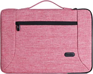 "ProCase 12-12.9 Inch Laptop Sleeve Case Cover Bag for MacBook Surface Pro 7 / Pro 6 / Surface Pro 2017/ Pro 4 3, Apple iPad Pro, Most 11"" 12"" Laptop Ultrabook Notebook MacBook Chromebook -Pink"
