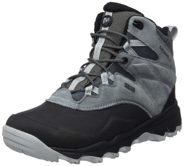 Merrell Herren Thermo Shiver 6 Waterproof Trekking- Wanderschuhe, Schwarz  42 EU|Grau