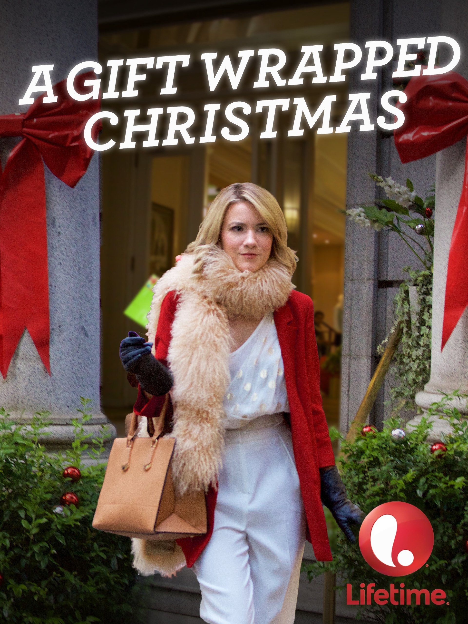 A gift wrapped christmas trailer hallmark free