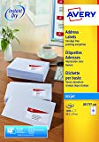 Avery J8173-100 Self-Adhhesive Address/Mailing Labels, 10 Labels per A4 Sheet