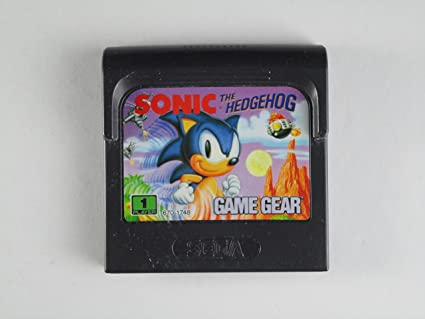 Amazon Com Sonic The Hedgehog Sega Game Gear Video Games