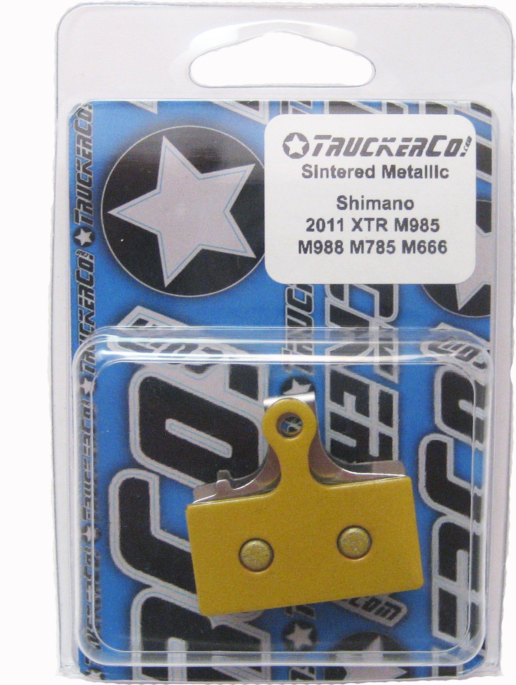 Sintered Metallic brake pads Shimano 2011-2015 XTR, XT, SLX, deore, BR-M9020 trail, BR-M9000 race, BR-M987, BR-M985, BR-M988, BR-M785, RS785, R785, S700 alfine, RS685, BR-M675, BR-M666, BR-M615, BR-M610, Di2 Ultegra Road Disc and CX, F01A, F03C, G01A, G03