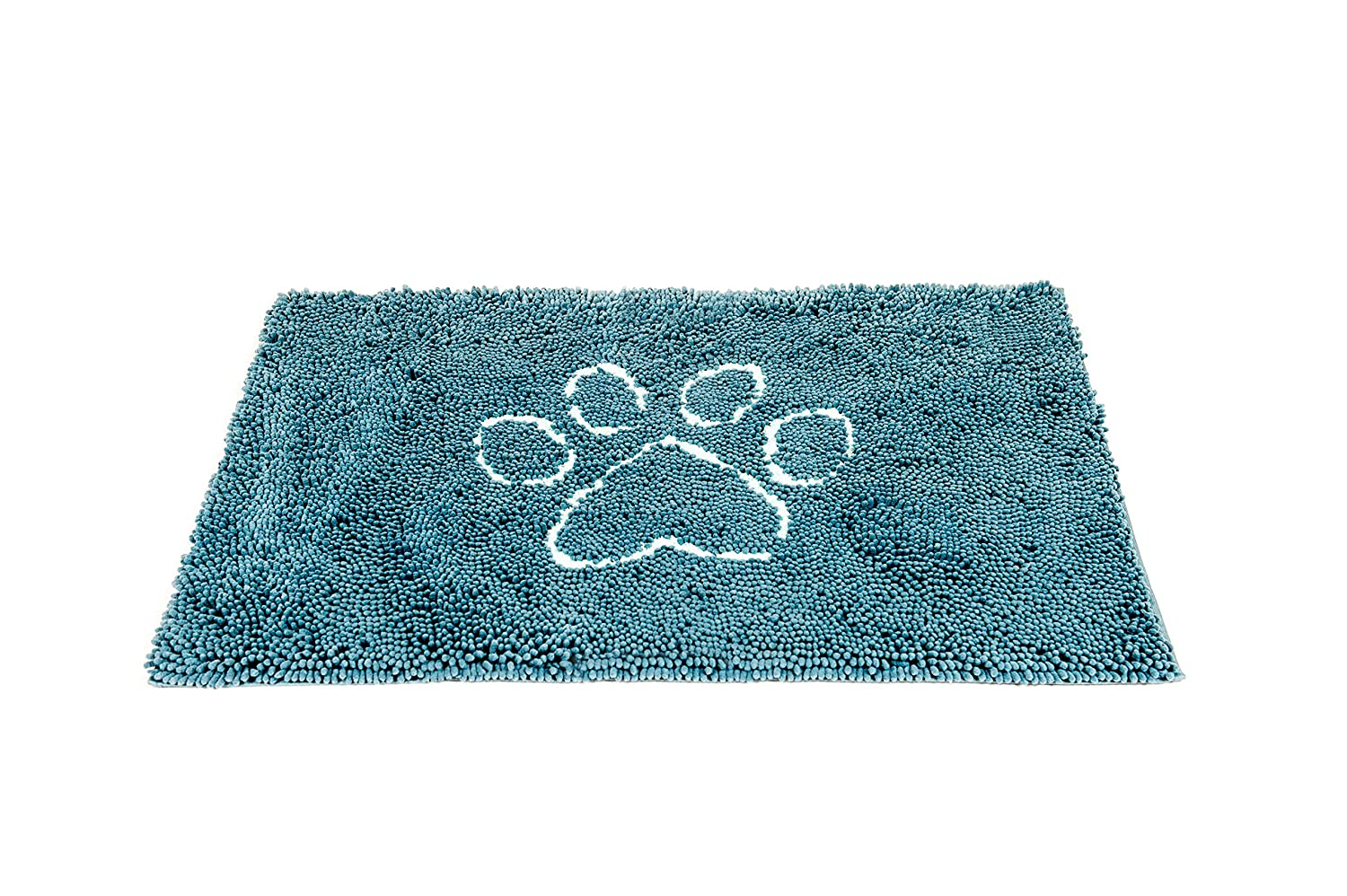 Pacific bluee Large Pacific bluee Large Dog Gone Smart Pet Products Dirty Dog Doormat, Large, Pacific bluee