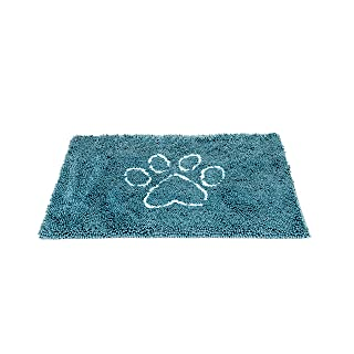 Dog Gone Smart Pet Products Dirty Dog Doormat, Large, Pacific Blue