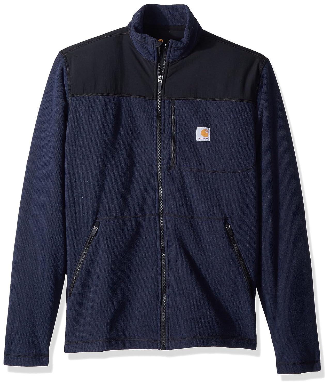 Navy 412 L Carhartt Fallon Zip Sweatshirt Jacke - Fleecejacke