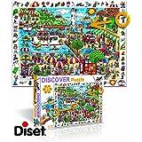Diset - 69582 - Puzzle - Discover Port