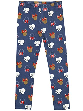f3a0316d883 Disney Minnie Mouse Girls Minnie Mouse Leggings Ages 18 Months to 8 ...
