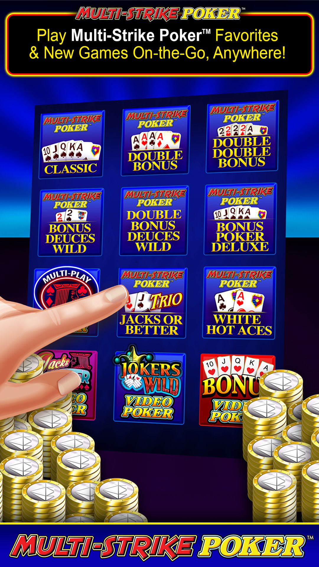 amazon com multi strike pokera 1 free video poker appstore for