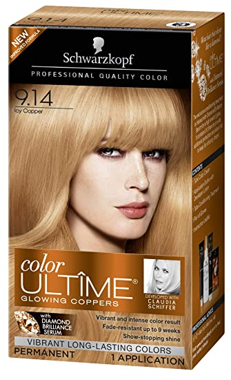 5a396806a1 Image Unavailable. Image not available for. Color: Schwarzkopf Color Ultime  Hair Color Cream ...