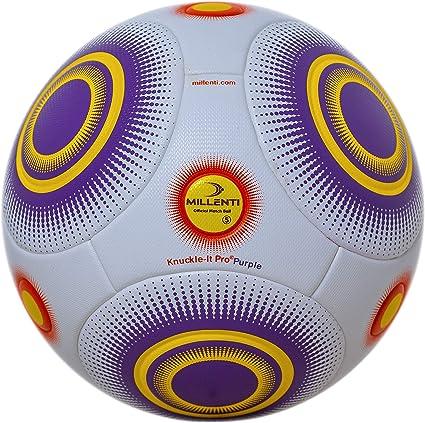 Bend-It Football Knuckle-It Pro (5, Blanc / Pourpre): Amazon.es ...