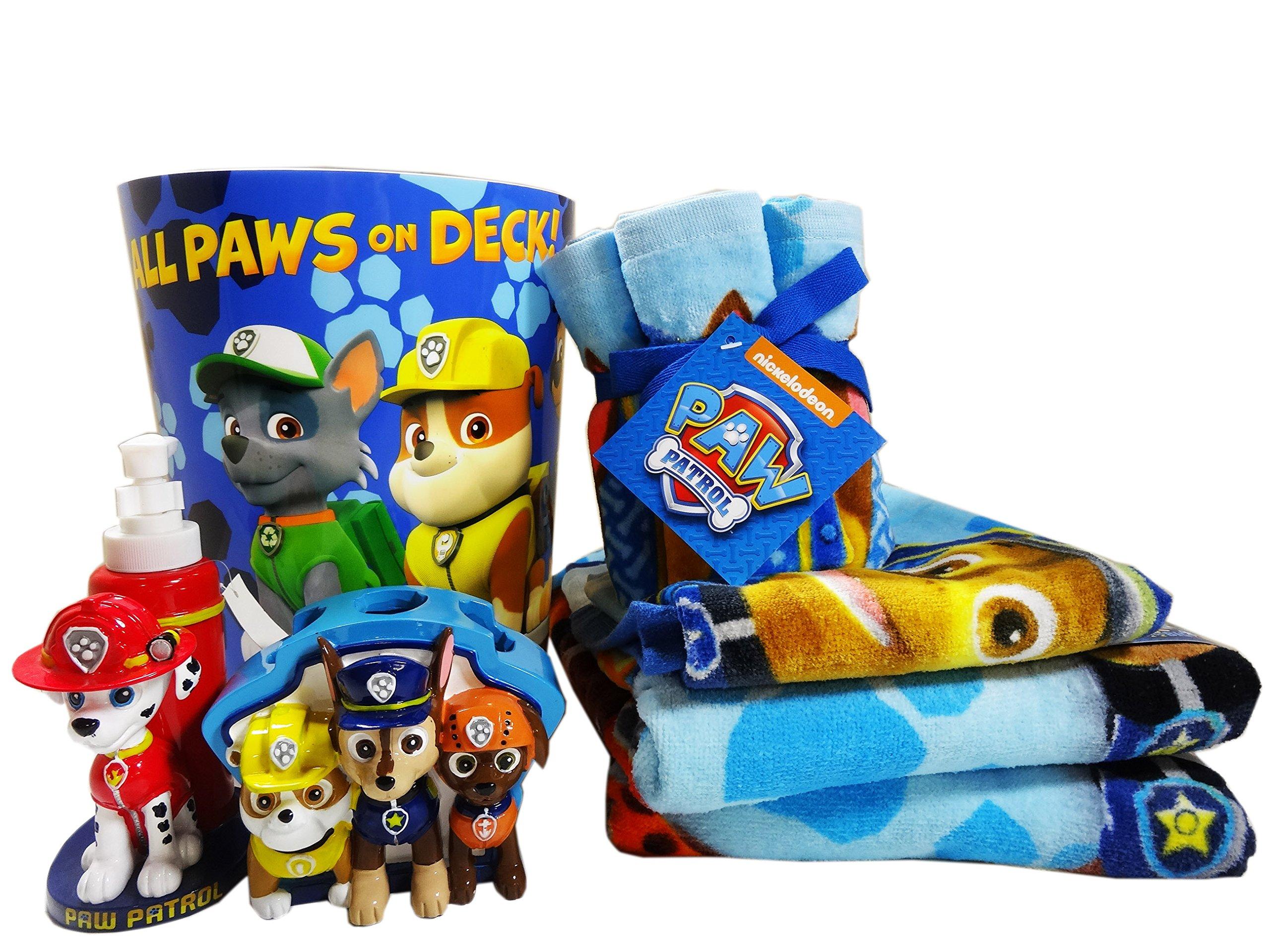 Paw Patrol Bathroom Accessories 12pc Bundle