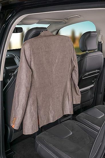Walser 30331 Autokleiderbügel Kleiderbügel Für Pkw Kfz Reisebügel Kopfstützen Kleiderbügel Schwarz Auto