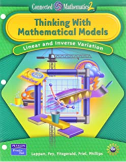 Thinking with Mathematical Models: Linear & Inverse Relationships (Connected Mathematics ...