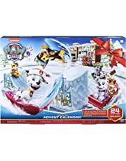 Paw Patrol - Advent Calendar - Includes 24 Collectible Figures - Ages 3+, 2019 Release