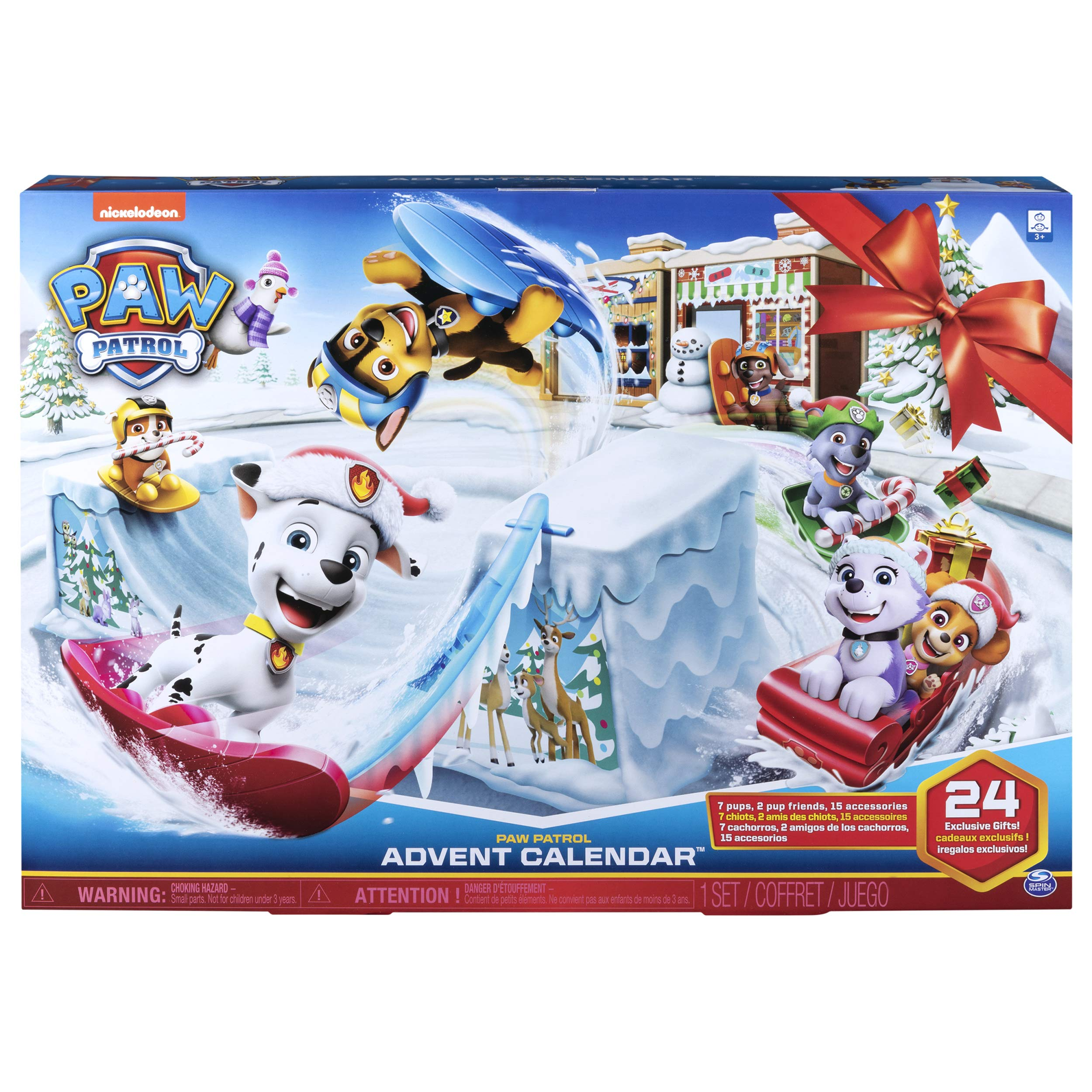Paw Patrol – 2019 Advent Calendar Release – Includes 24 Gifts to Explore – Ages 3+
