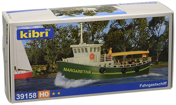 Amazon com: 39158 Canal/River Pass Boat HO Scale Model: Toys & Games