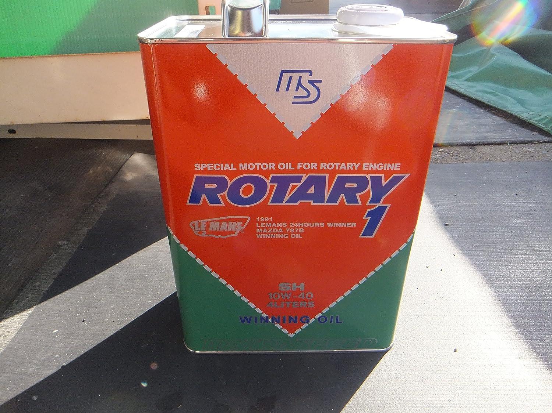 MAZDA ROTARY1 ロータリー1 SH 10W-40 RX-7 レシプロ専用 K004-W0-011 4L B0756TJ2FZ