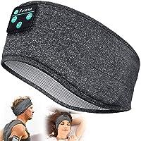 Sleep Headphones, Perytong Bluetooth Sports Headband Headphones with Ultra-Thin HD Stereo Speakers Perfect for Sleeping…