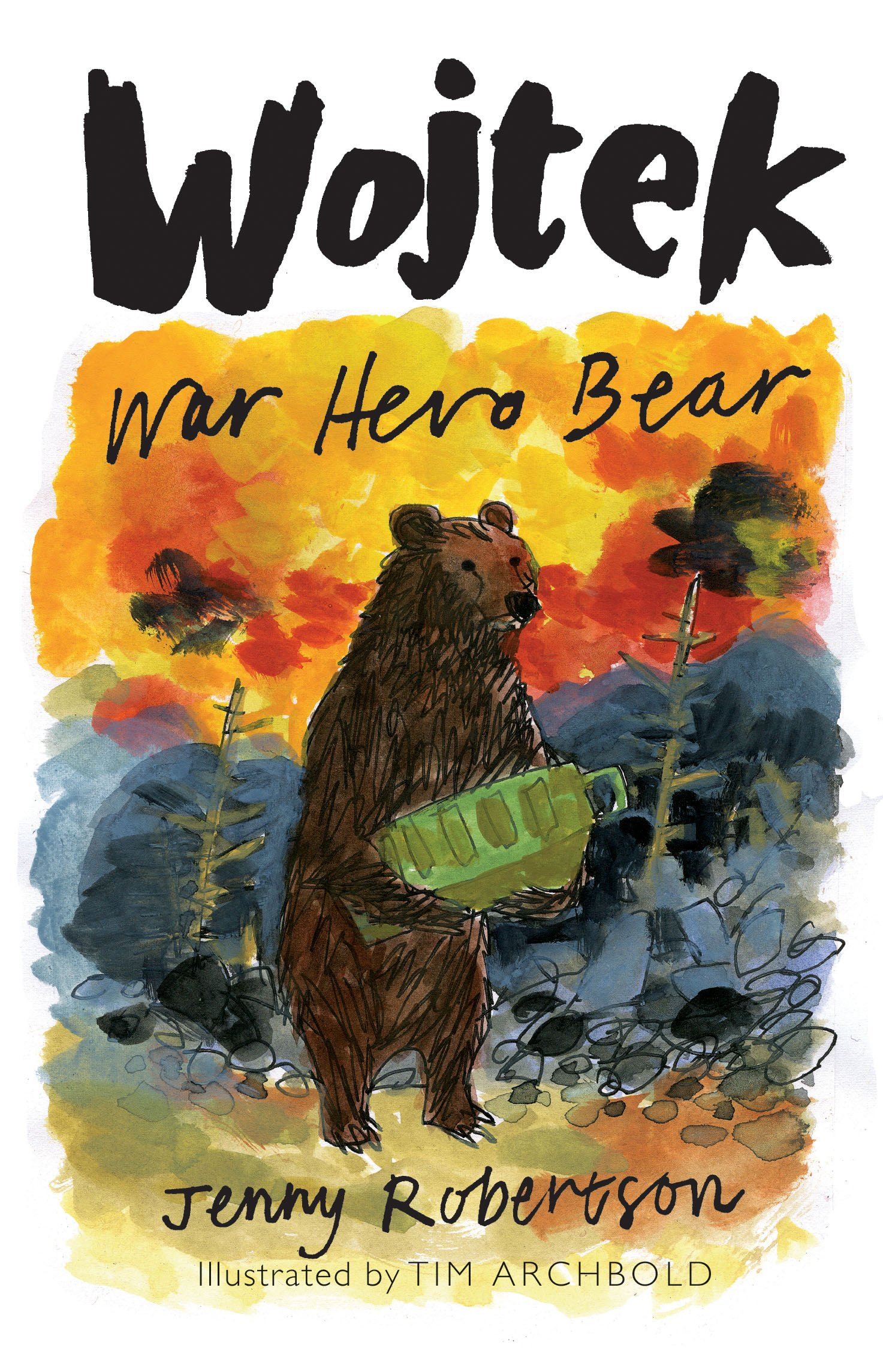 War Hero Bear: Amazon.co.uk: Jenny Robertson, Tim Archbold ...