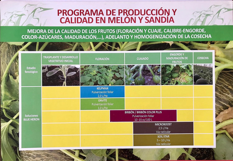 BRIBON stc. ® 50; Abono Especial Nano Concentrado (5.000 m2 jardín ...