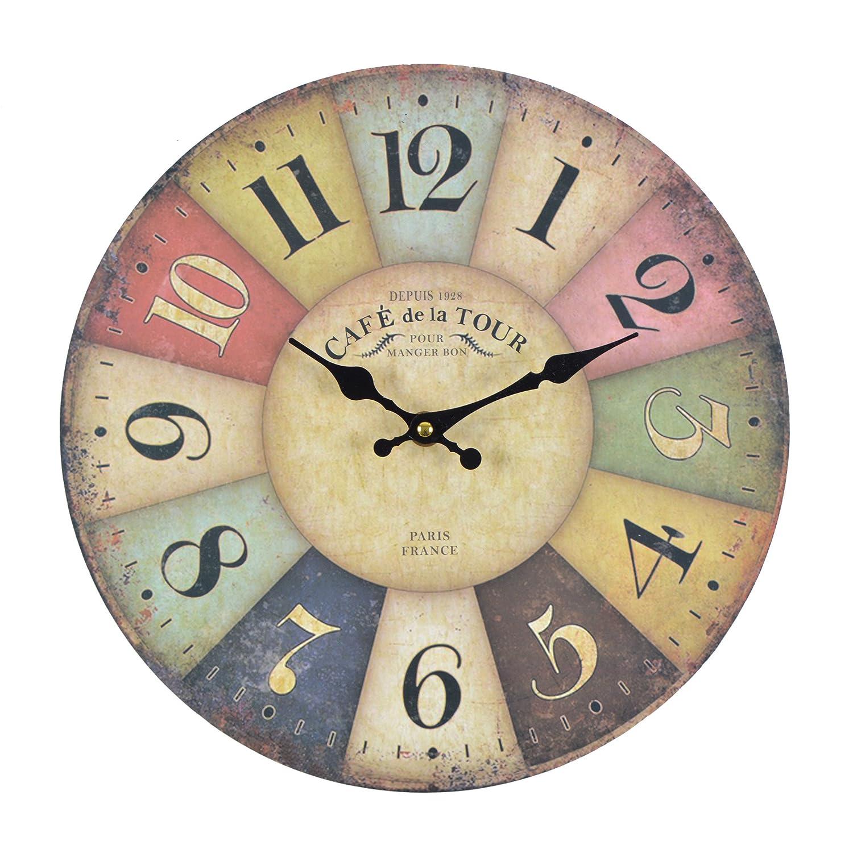 Relojes de pared cocina affordable buena calidad marcas cocina decoracin hierro d reloj de - Reloj de pared para cocina ...