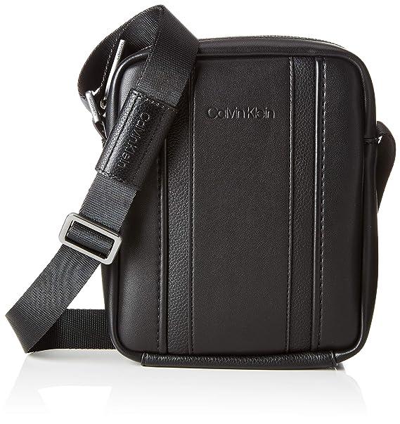 d8f14b8c4f5d27 Calvin Klein Essential 1 G Ipad Mini Reporter - cartella Uomo, Nero (Black)