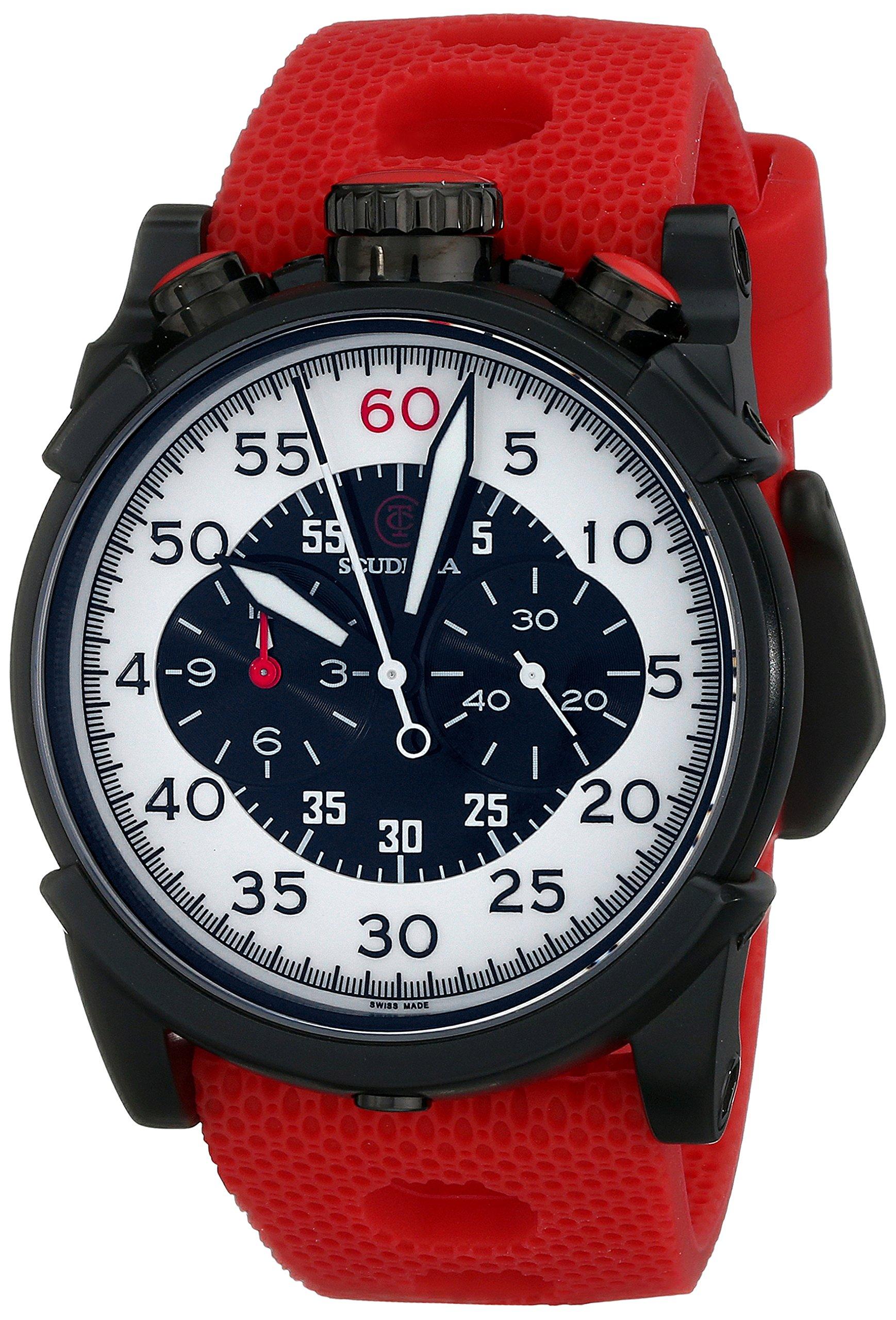 CT Scuderia Men's CS10115 Analog Display Swiss Quartz Red Watch