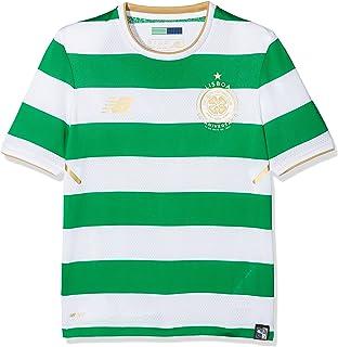 Amazon.com   New Balance 2016-2017 Celtic Home Football Soccer T ... d9da501b7