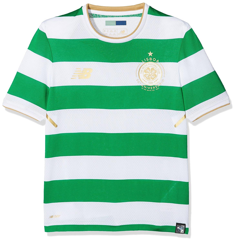 2017-2018 Celtic Home Football Shirt (Kids) New Balance