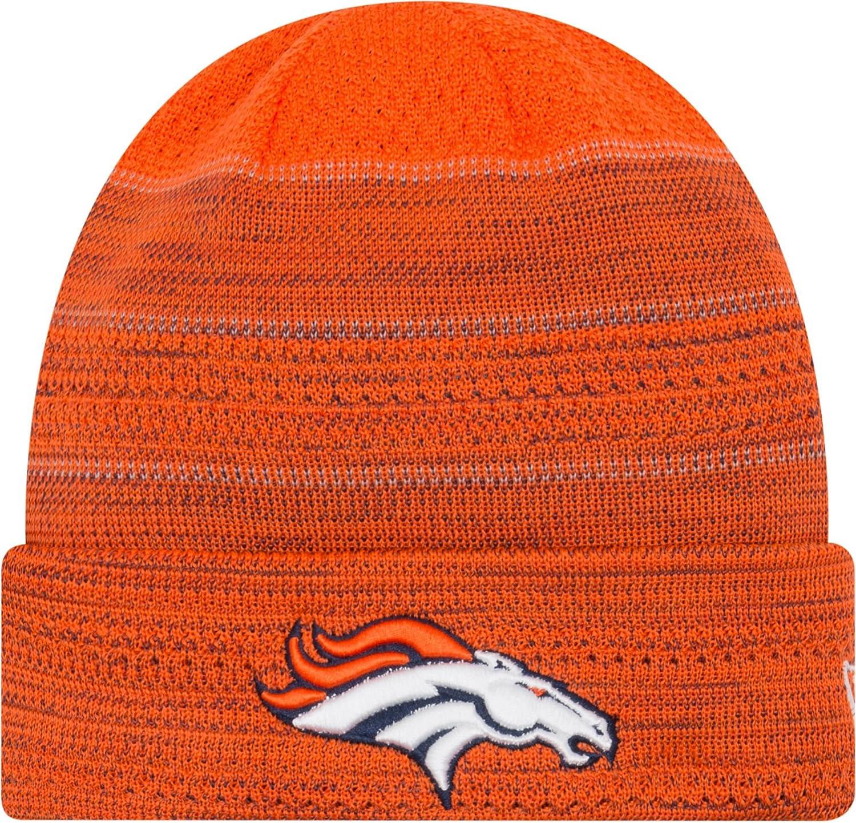 Denver Broncos Cuffニットビーニー帽子キャップ – チームカラー   B0792LJ1P2