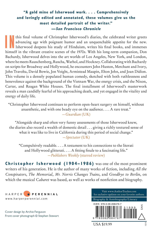 Liberation: Diaries, Volume Three, 1970-1983: Christopher Isherwood:  9780062084767: Amazon.com: Books