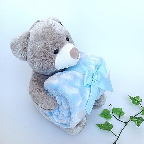 mantas con peluche para bebe