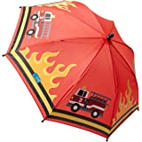 Stephen Joseph Kids Print Umbrella, FIRETRUCK, one size